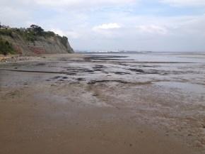 Low tide in Penarth