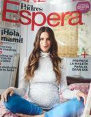 Maternity fashion magazine cover