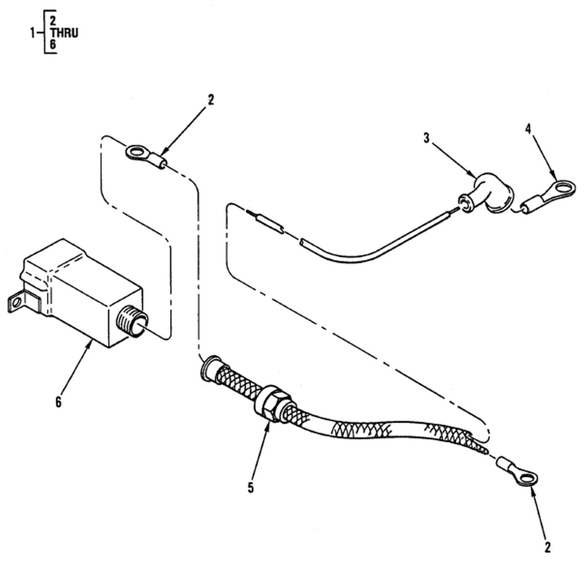 00 2 Figure 106 Hull Or Chassis Wiring Harness