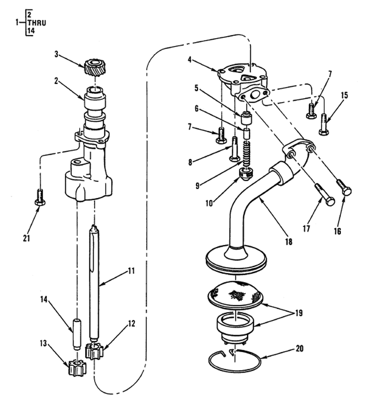 00 2 Figure 14 Engine Lubrication System Engine