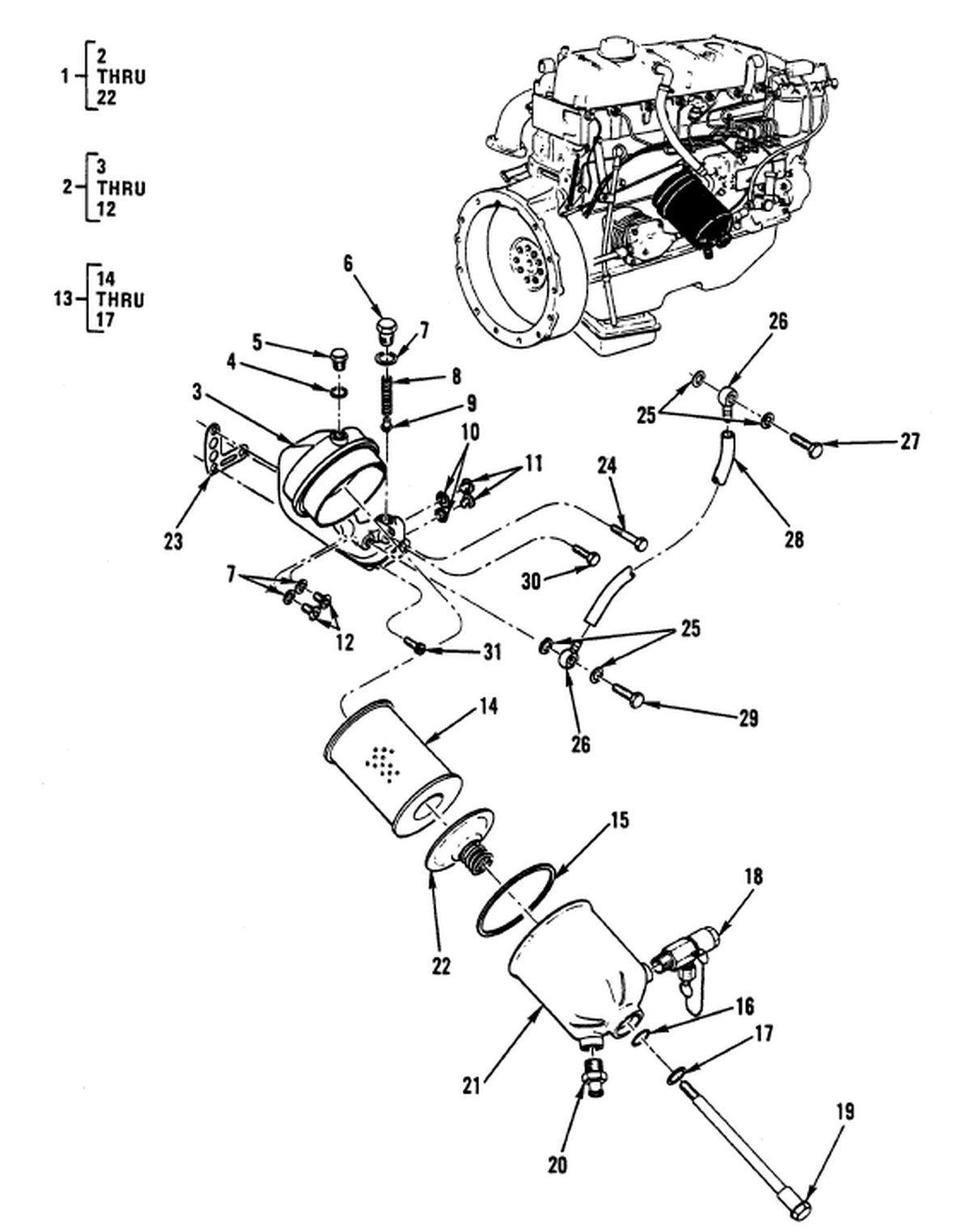 00 2 Figure 15 Engine Lubrication System Fluid
