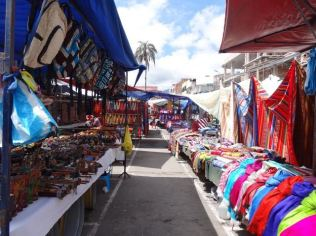 Wochenmarkt in Otavalo