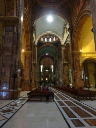 Kathedrale von Cuenca von innen