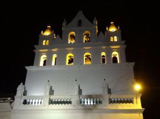 Kathedrale von Cuenca bei Nacht