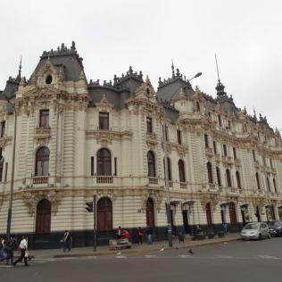 Straßenzug in Lima