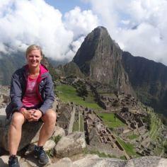 oben am Machu Picchu