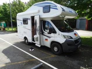 unser Luxus-Camper
