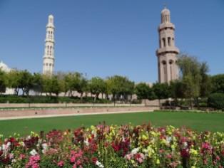 Garten vor der Moschée