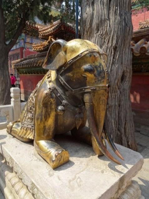 Kunst-Elefant