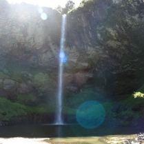 Wasserfall irgendwo in de Pampa