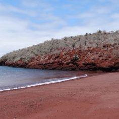 und auch noch roter Sand