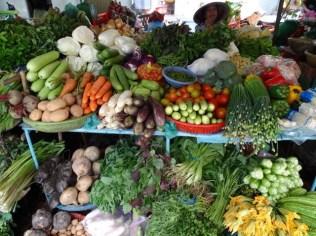 Gemüse-Stand