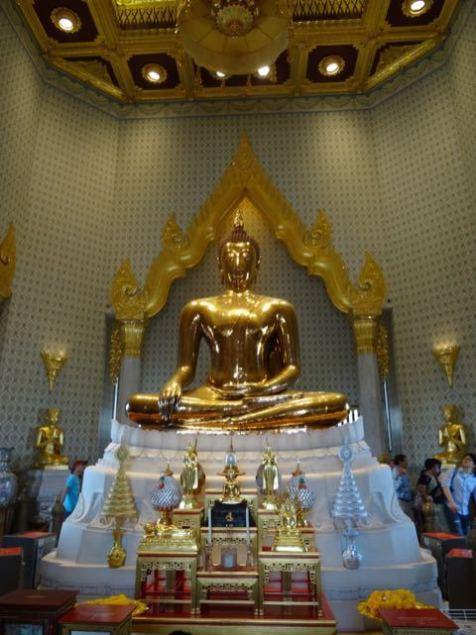 Buddha aus gold