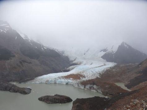 Lago Argentino mit Gletscher