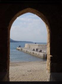 Blick auf Strand & Meer