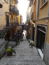 Treppen in Bellagio