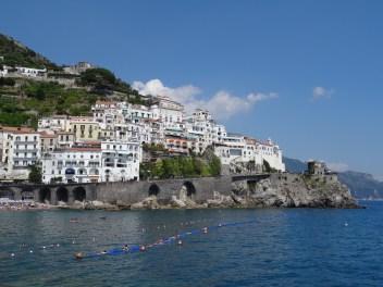 Blick auf Amalfi