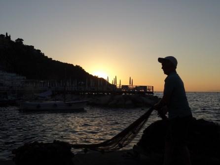 Sonnenuntergang & Arbeit