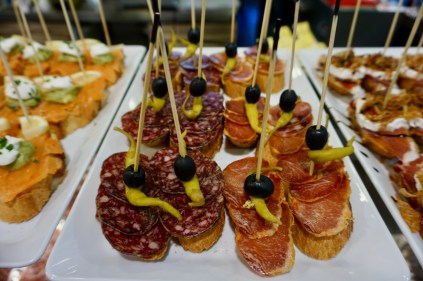 Tapas-Lunch