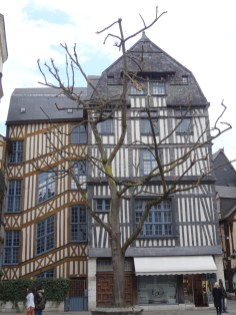 Fachwerk in Rouen