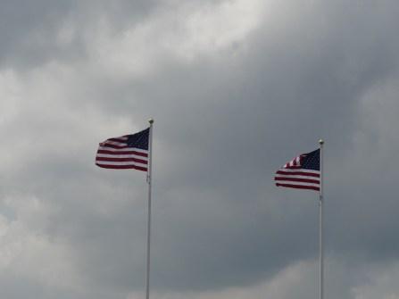 Eingang zur amerikanischen Gedenkstätte