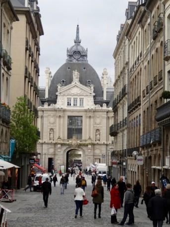Fußgängerzone Rue d'Orleans, Rennes