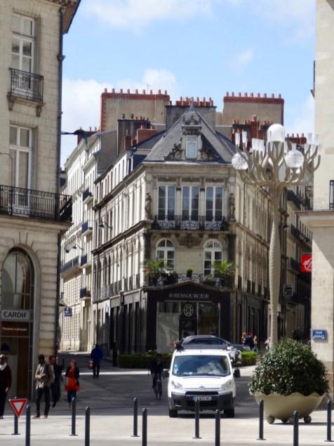 Innenstadt von Nantes