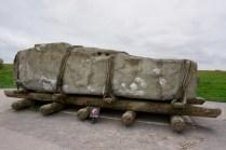 Stein-Transport in Stonehenge
