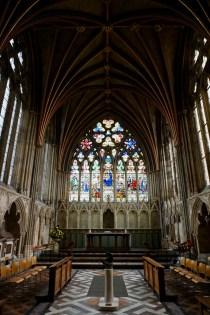 Andachtsraum der Kathedrale von Exeter