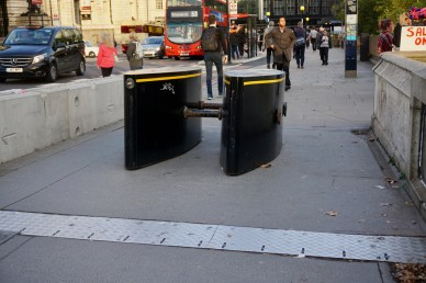 Blockade gegen Attentäter in London