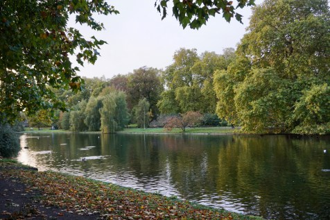 Hyde Park im Herbst