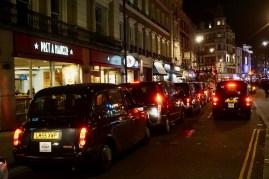 Taxistau in London