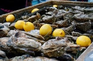 Austern vom Markt
