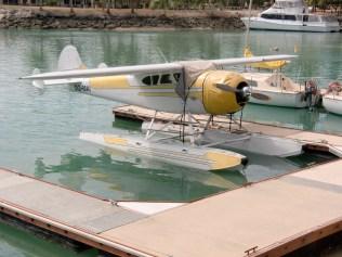 das inseleigene Wasserflugzeug