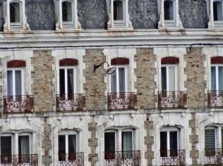 Fensterfront in Vannes