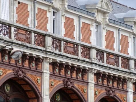 toll verzierte Fassade