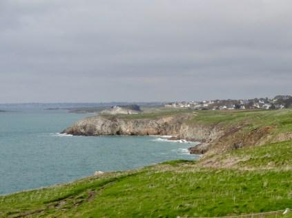Steilküste mit Fernblick