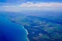 Luftbild von Südafrika