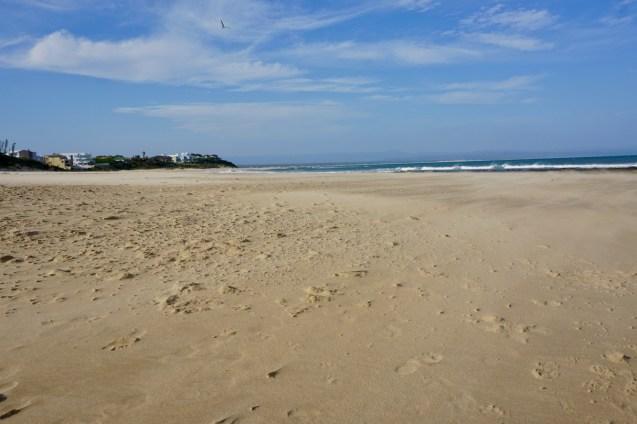 Sandstrand von Jeffrey's Bay