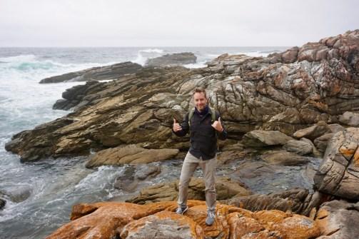 Steinformationen im Garden Route National Park