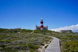 Leuchtturm mit blauem Himmel