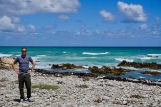 Sven am Cape Agulhas