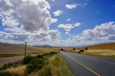 Südafrika November Landschaft