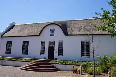 Schöne Häuser in Stellenbosch