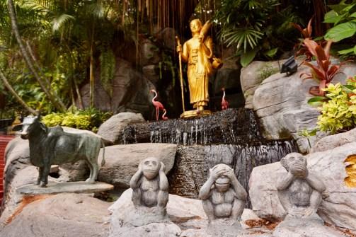 Der Wat Saket Ratcha Wora Maha Wihan ist eine der ältesten buddhistischen Tempelanlagen in Bangkok.
