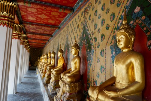Goldene Buddha in Thailand