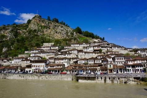 Berat am Osum River
