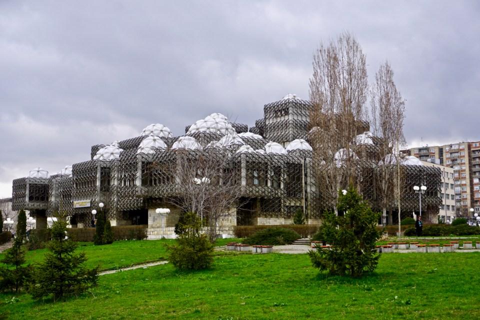 Bibliothek von Pristina