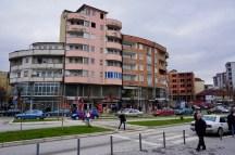 Baufällige Häuser in Mitrovica