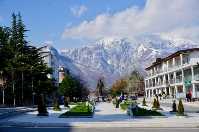 Bajram Curri liegt an der Grenze zum Kosovo
